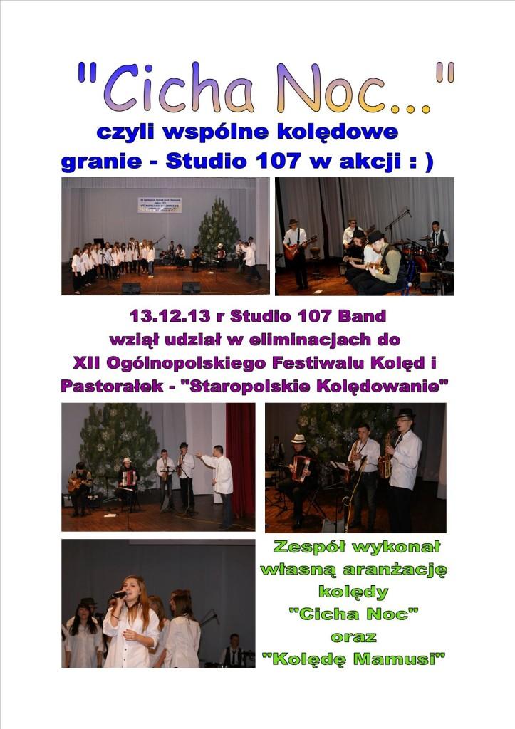 Eliminacje do XII Ogólnopolskiego Festiwalu Kolęd i Pastorałek