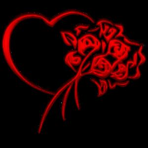 serceKwiaty