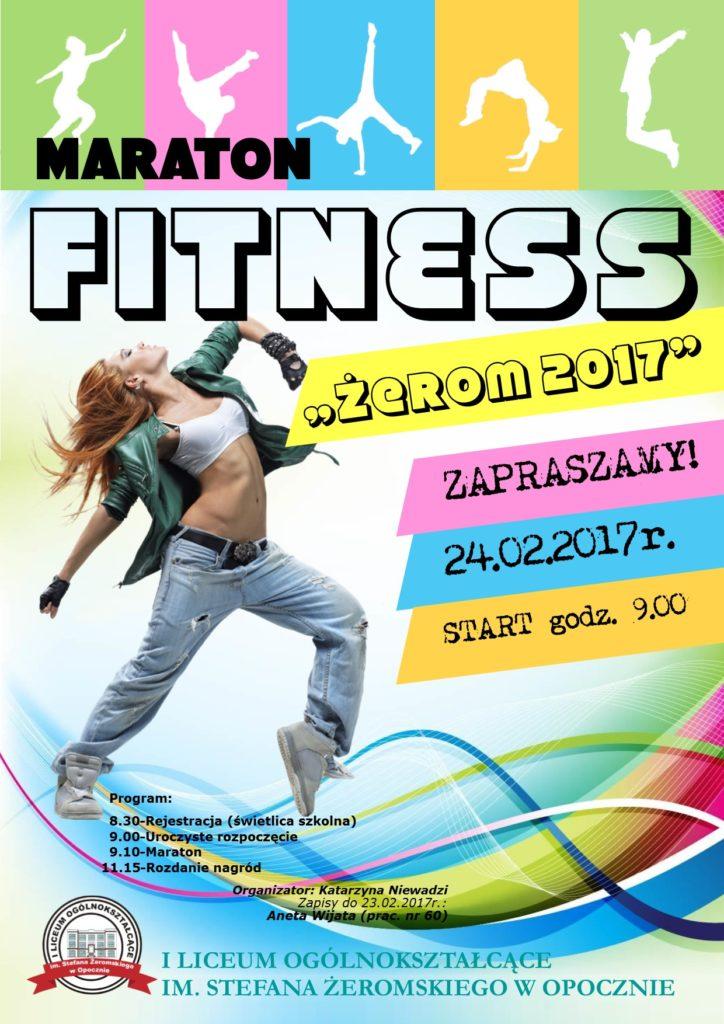 plakat -maraton 2017