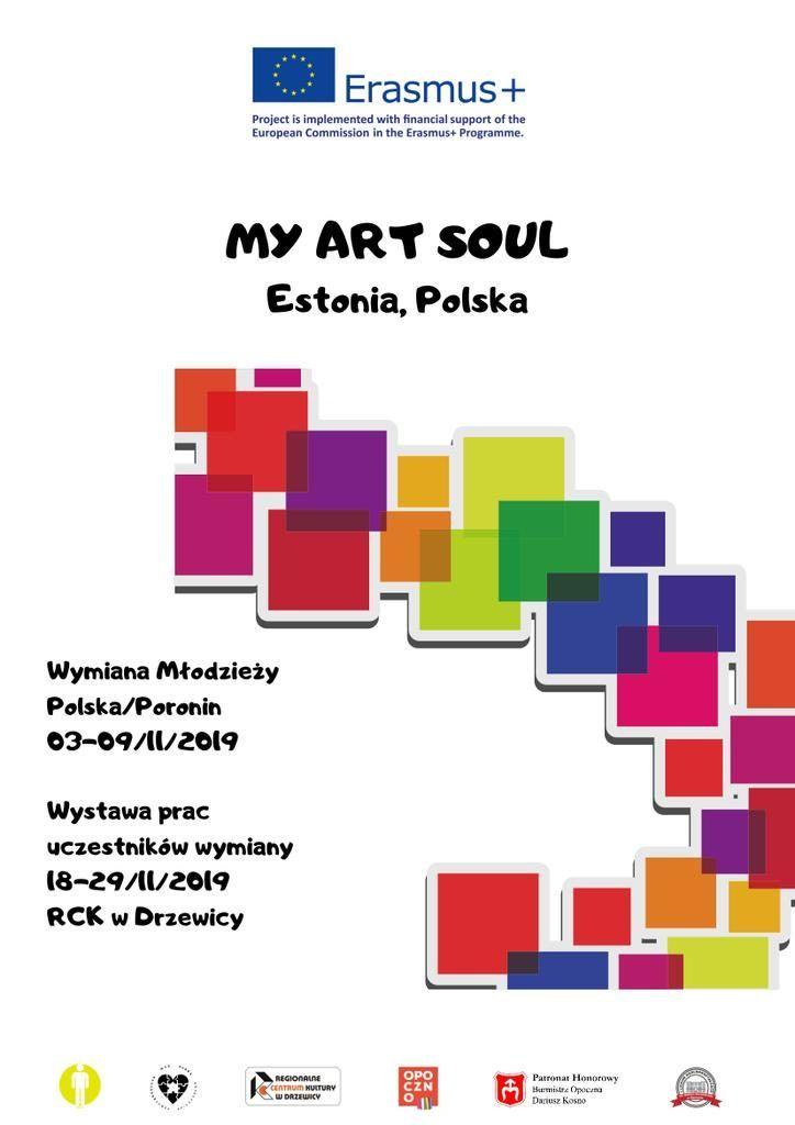Plakat My art soul-3_z