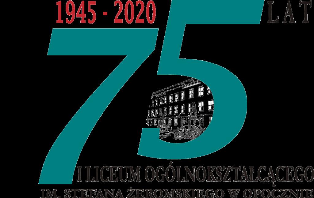 logo 75 lat I LO